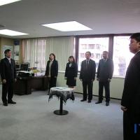 Serah Terima Jabatan Kepala ITPC Osaka